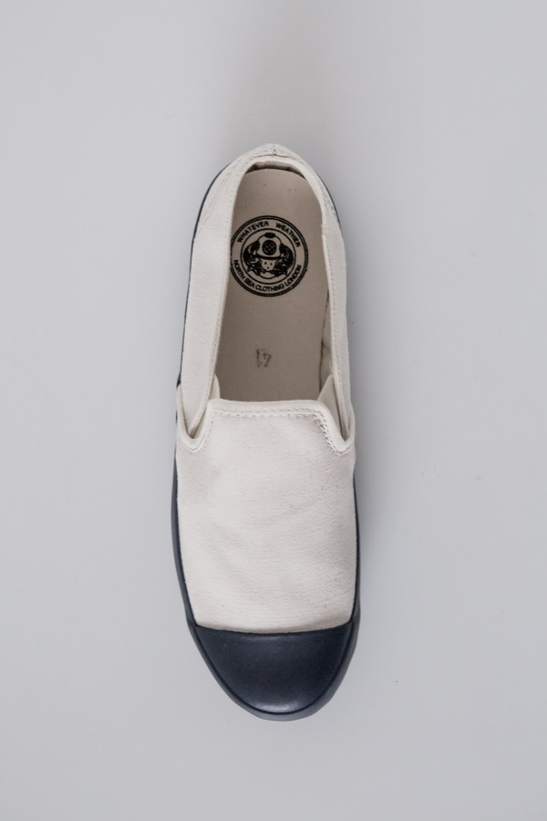 Men's North Sea Clothing Canvas Slip-On Deck Shoe