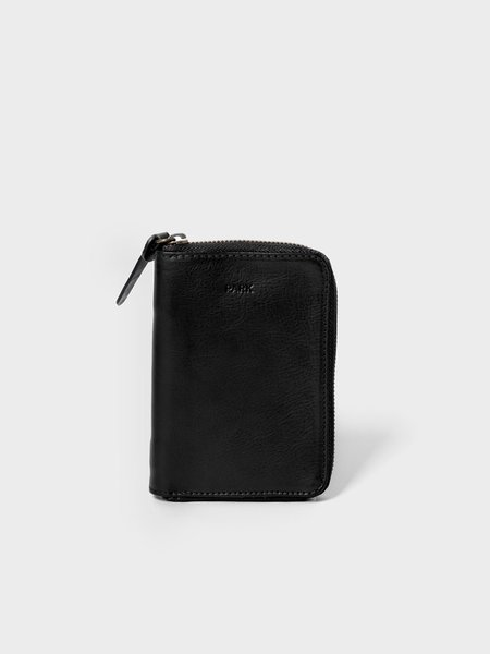 Park Bags Mid size leather wallet - black