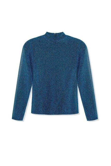 Kurt Lyle Crystal Top - Turquoise