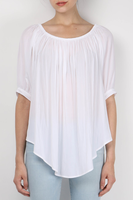 Smythe Gypset Blouse White