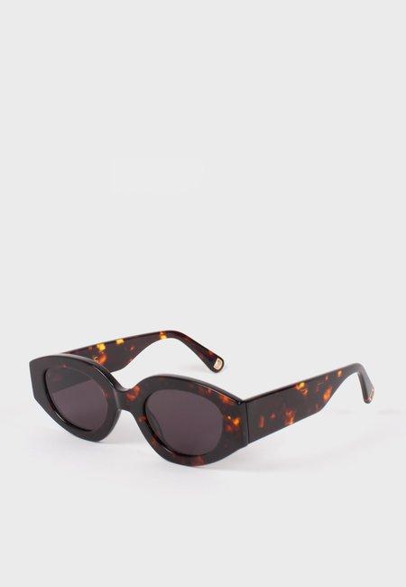 UNISEX MARS Stesso Sunglasses - dark tort
