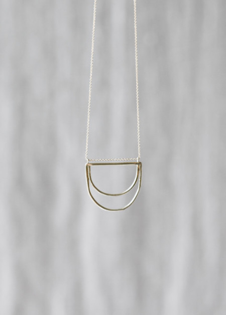 Another Feather - Small Delos Necklace