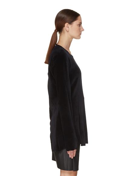 Leon Emanuel Blanck Velvet Top - Black