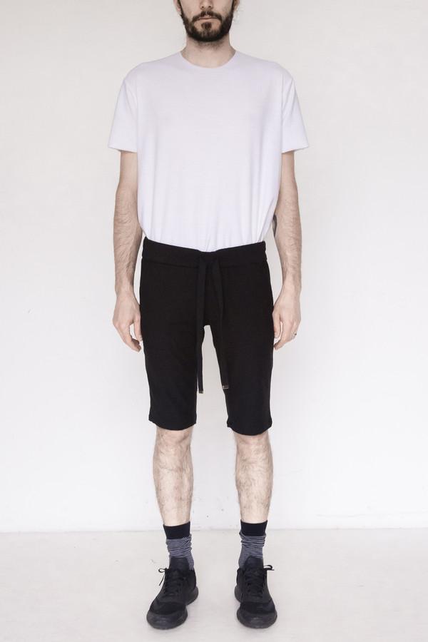 Assembly New York Cotton Sweat Short - Black