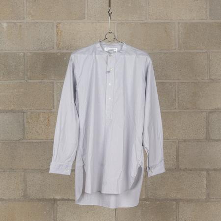 PEEL & LIFT Grandfather Shirt - Grey Stripe