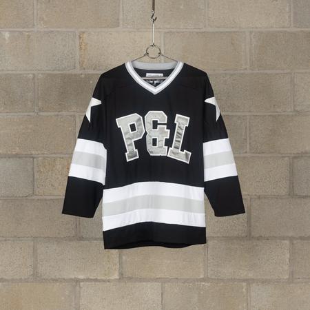 PEEL & LIFT Hockey Shirt - Black