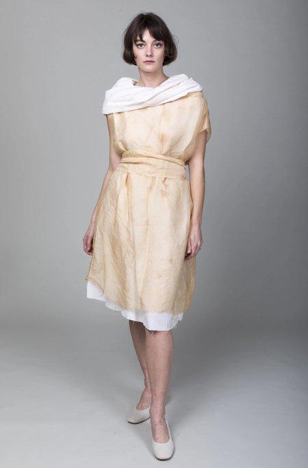 Pipsqueak Chapeau Tea Stained Muffle Dress - Light