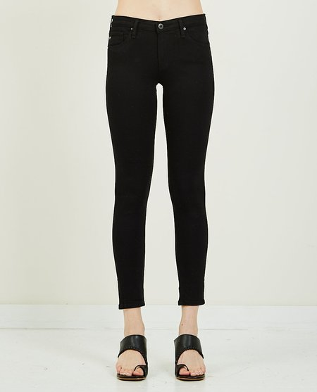 AG Jeans LEGGING ANKLE - SUPER BLACK
