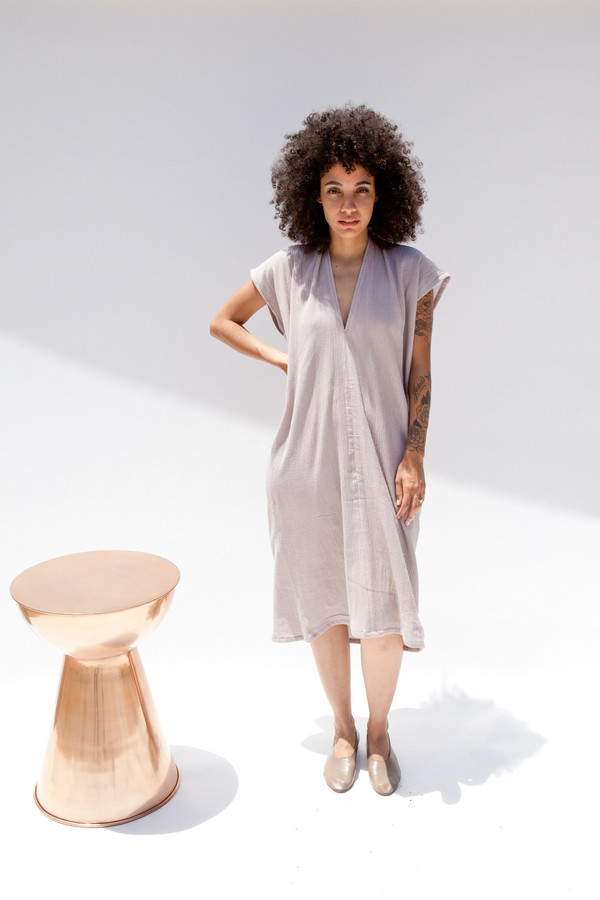 Miranda Bennett Salton Everyday Dress, Double Gauze