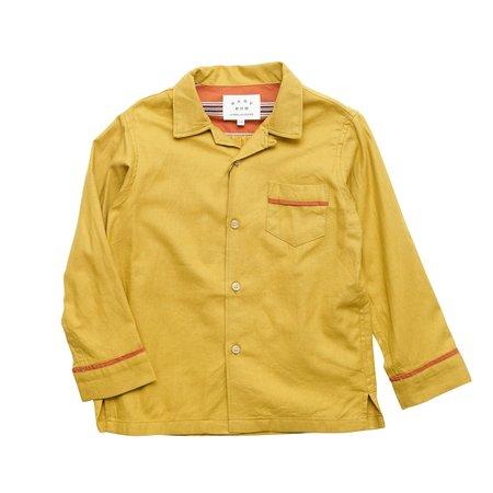 KIDS East End Highlanders Pajama Shirt - Mustard