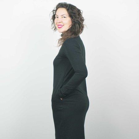 Atelier b. Turtleneck Dress - Black
