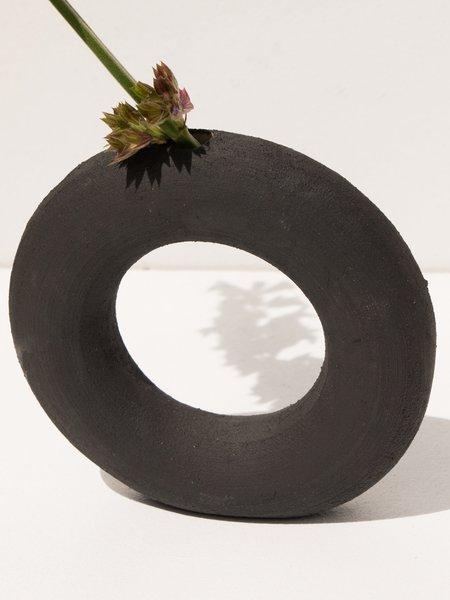 Deborah Sweeney Bud Vase - Matte Black