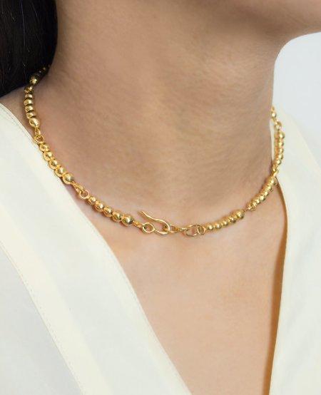 Ora-C ELVIRE necklace - brass
