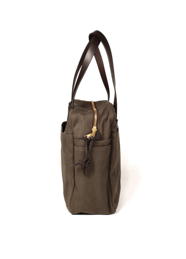 Filson - Tote Bag With Zipper in Otter Green