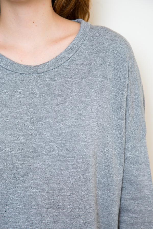 stateside heather grey sweatshirt