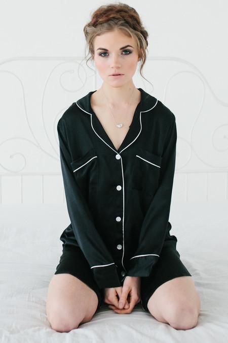 Salua Atelier Silk Boyfriend's Shirt