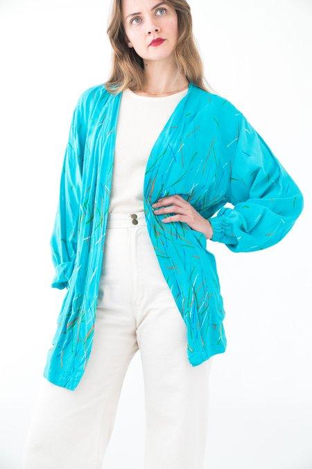 Vintage Cardigan - Blue