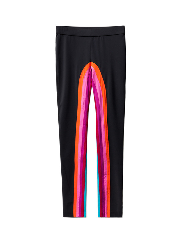 No Ka Oi Womens Kamu Pant Black/Rainbow