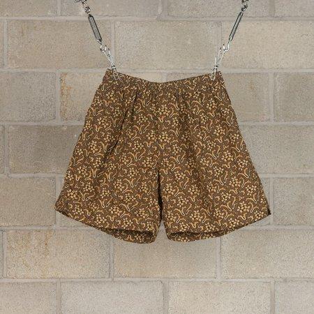 KAPTAIN SUNSHINE Athletic Wide Shorts - Dark Olive