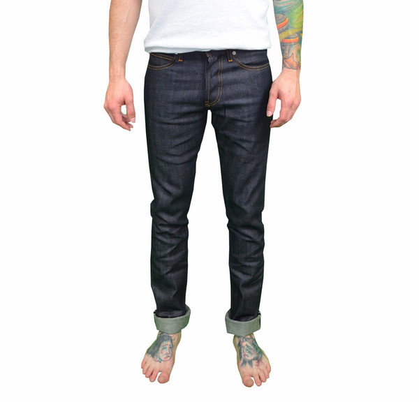 Men's United Stock Dry Goods - Slight Raw Indigo Jeans