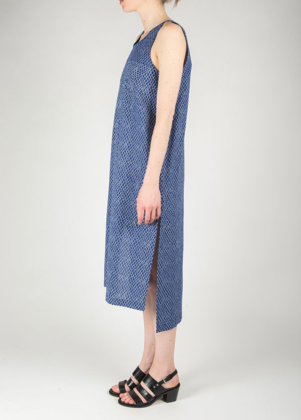 Ilana Kohn - Roxey Dress in Blue Net