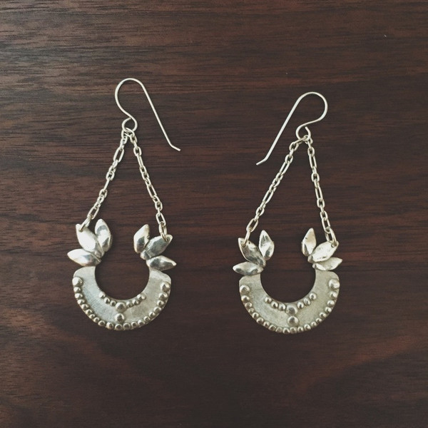 Shannon Munro Sovereign Earrings - Silver