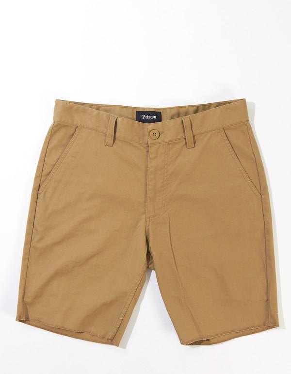 Brixton Men's Toil II Chino Short Khaki