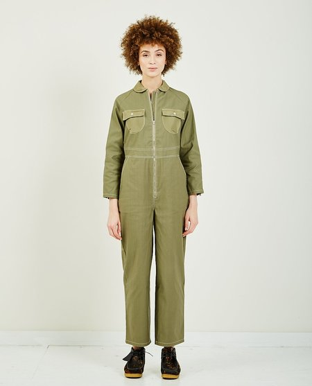 W'Menswear LAUNCH COVERALL - army