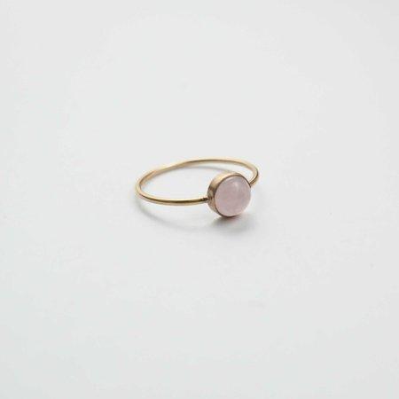 Favor Gumdrop Ring - Rose Quartz