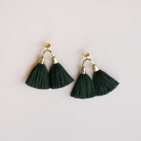 Ora-C Aria Earrings - Forest