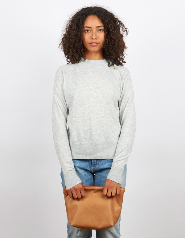 Just Female Neptune Knit Silver Cloud