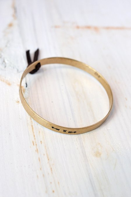CLP Jewelry 4 Directions Bangle - Gold
