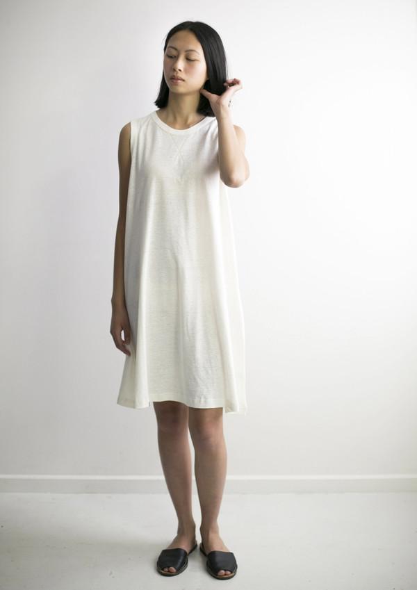 GOOD STUDIOS WOMENS HEMP JERSEY ALINE DRESS