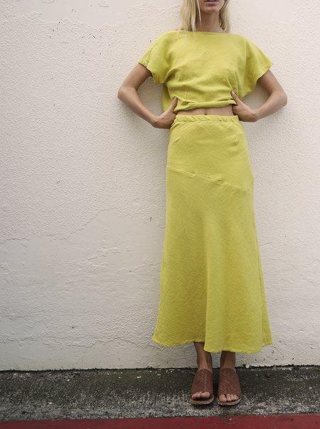 Here. Bias Slit Skirt