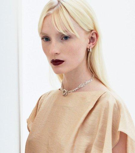 Hana kim Flow Earring - Silver