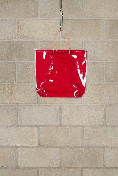 TEMBEA PVC Paper Bag - Dark Red