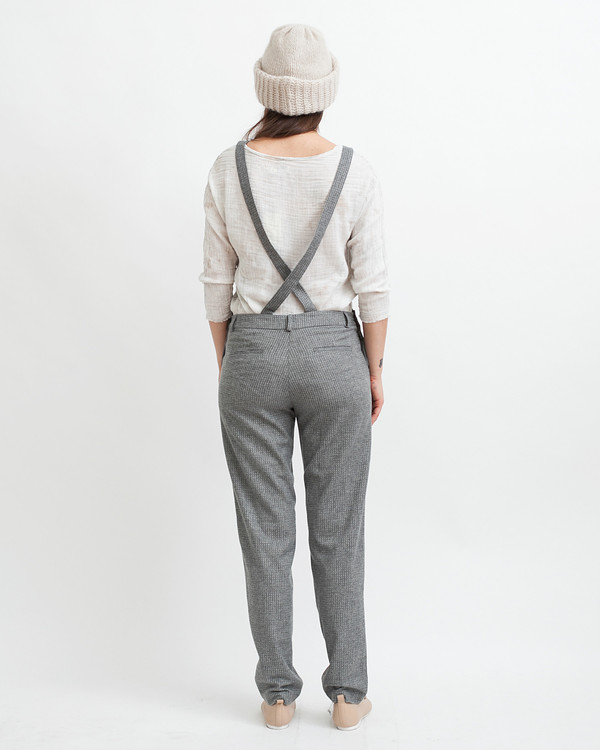 Sessun Amedeo Overalls in Grey
