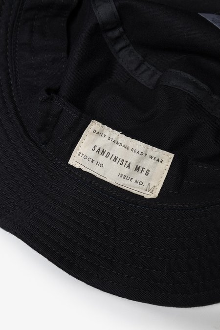 Sandinista MFG Daily Bucket Hat - Black