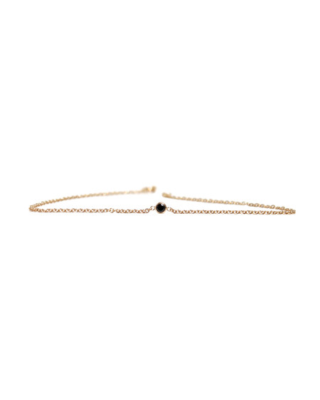 Lumo Black Diamond Bracelet