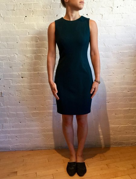 Obakki Roche Sleeveless Dress - Dark Teal