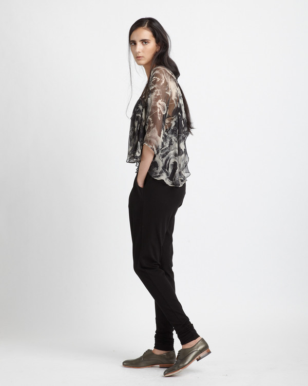 Diana Orving Frill Blouse