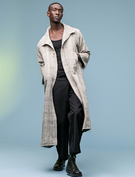 Unisex Manto Abrigos Oversized Wool Coat
