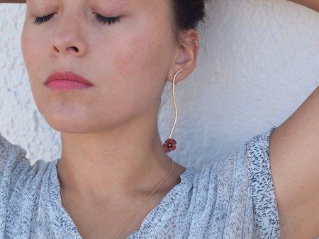 Sophie Kissin Jewelry Unikko Stem Earrings