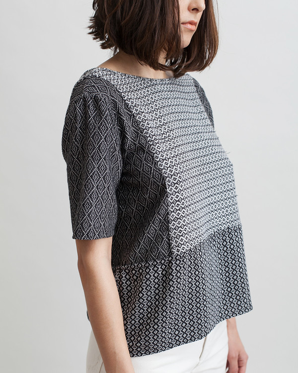Ace & Jig Kat Top in Moonstone