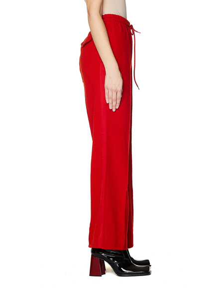 Undercover Wool Trousers - Red