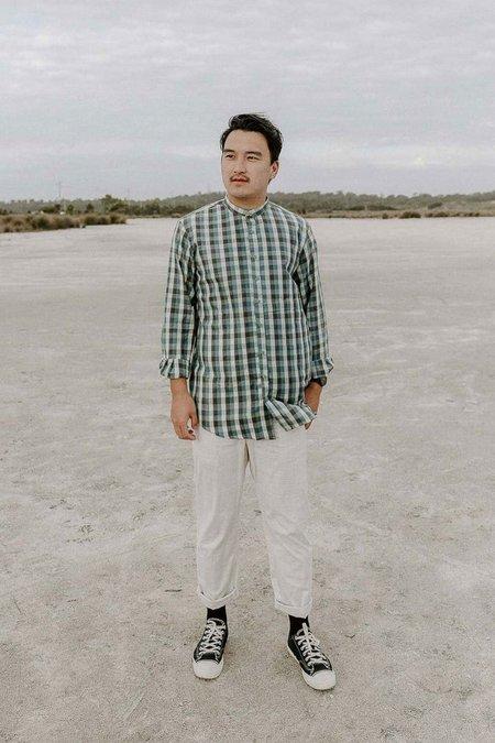 Rupahaus Arlo Shirt - Pine Gingham