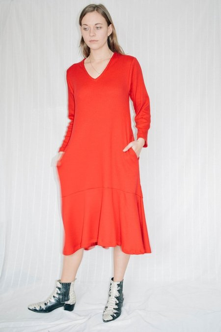 Conrado Stephanie Dress - Red