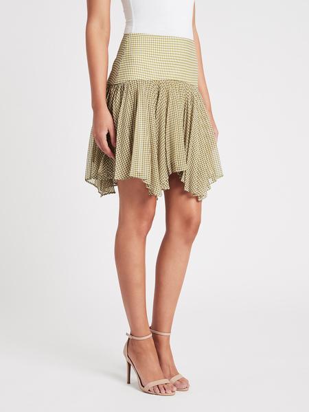 Camilla and Marc Mason Mini Skirt - Khaki/White Check