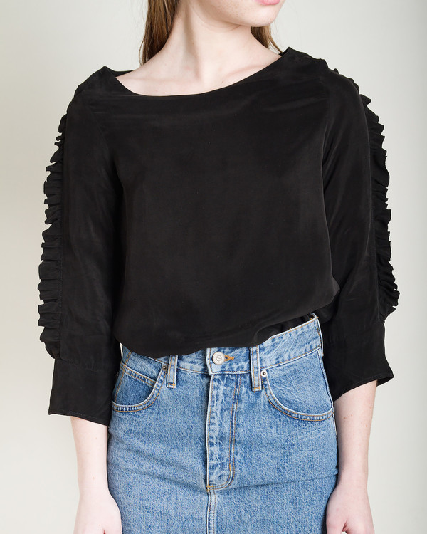 Objects Without Meaning Nia Ruffle Top