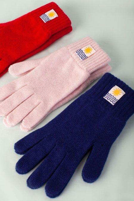 Unisex L.F.Markey Cashmere Gloves - Blush